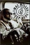 Mac Miller Most Dope B&W Mounted Print