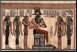 Egyptian Hieroglyphics I Art Print Poster Mounted Print