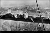 Men on Girder, 1930 Mounted Print