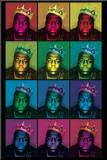 Notorious B.I.G. - Pop Art King Mounted Print