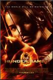 Hunger Games - Katniss Aiming Mounted Print