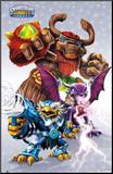 Skylanders Giants - Starter Pack Mounted Print