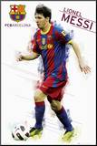 Barcelona - Messi Mounted Print