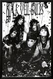 Black Veil Brides - B/W Band Print