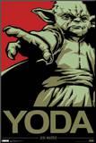 Star Wars - Yoda Jedi Master Pop Art Montert trykk