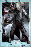 Assassin's Creed 3 Collage Mounted Print