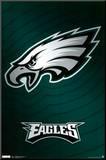 Philadelphia Eagles Logo Mounted Print