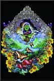 Michael DuBois (Musical Frog) Art Poster Print Mounted Print