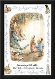 Beatrix Potter Benjamin Bunny Art Print Poster Prints