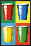 Party Cups Pop Art Photo