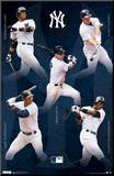 New York Yankees Collage 2012 Mounted Print