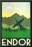 Endor Retro Travel Impressão montada