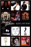 Michael Jackson, Engelse tekst: King of Pop Kunstdruk geperst op hout