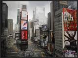 Times Square Rising Print