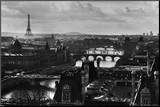 Paris Mounted Print by Peter Turnley