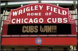 Cubs Win! Mounted Print