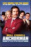Anchorman Mounted Print