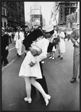 V-J Day in Times Square Prints by Alfred Eisenstaedt
