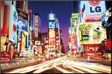 Times Square- New York Mounted Print