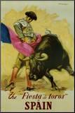 Spain Mounted Print