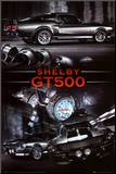 Ford Shelby GT500 Mounted Print
