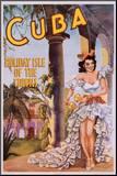 Cuba Mounted Print