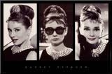 Audrey Hepburn Mounted Print