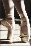 Tanz Aufgezogener Druck von Rick Lord