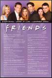 Friends - Tudo o que sei Impressão montada