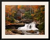 Glade Creek Mill, West Virginia Print