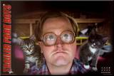 Trailer Park Boys-Bubbles Mounted Print
