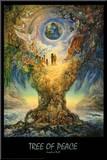 Tree Of Peace Umocowany wydruk autor Josephine Wall