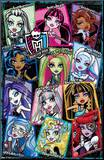 Monster High Snapshots Mounted Print