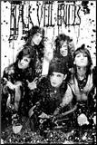 Black Veil Brides - B/W Band Mounted Print