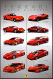 Ferrari - Dream Machines Mounted Print