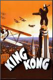 King Kong Mounted Print