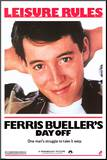 Ferris Bueller's Day Off Mounted Print