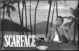 Scarface Mounted Print