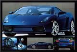Lamborghini Gallardo Mounted Print