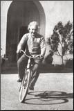 Albert Einstein Umocowany wydruk