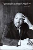 Martin Luther King Jr. Mounted Print