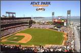 AT&T Park Mounted Print