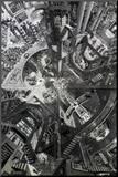 The Atrium Impressão montada por Tom Masse