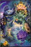 Key To Eternity Mounted Print by Josephine Wall