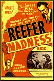 Reefer Madness Mounted Print