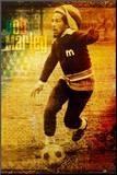 Bob Marley Umocowany wydruk