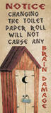 Brain Damage Poster di Jo Moulton