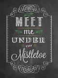 Under the Mistletoe Prints by Stephanie Marrott