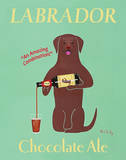 Lab Chocolate Ale Posters by Ken Bailey