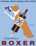 Appellation Boxer Art by Ken Bailey